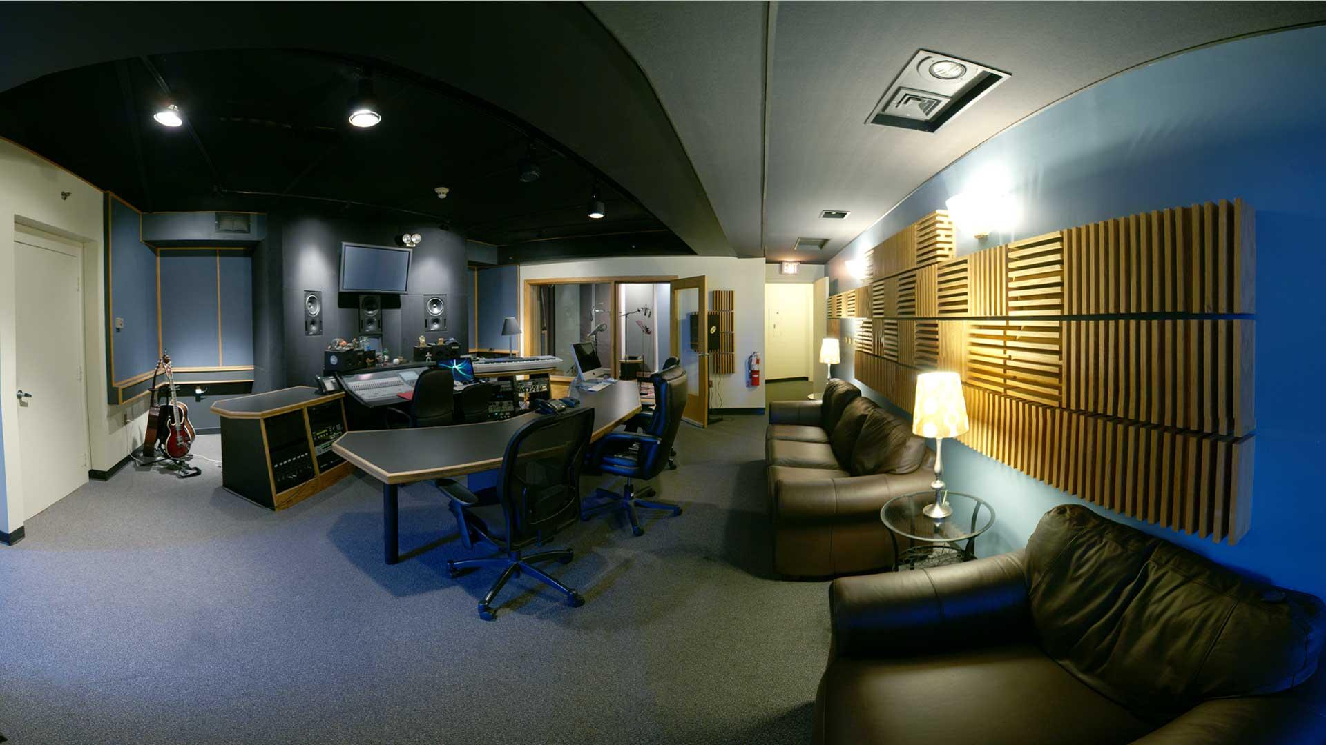 Studio E Control Room