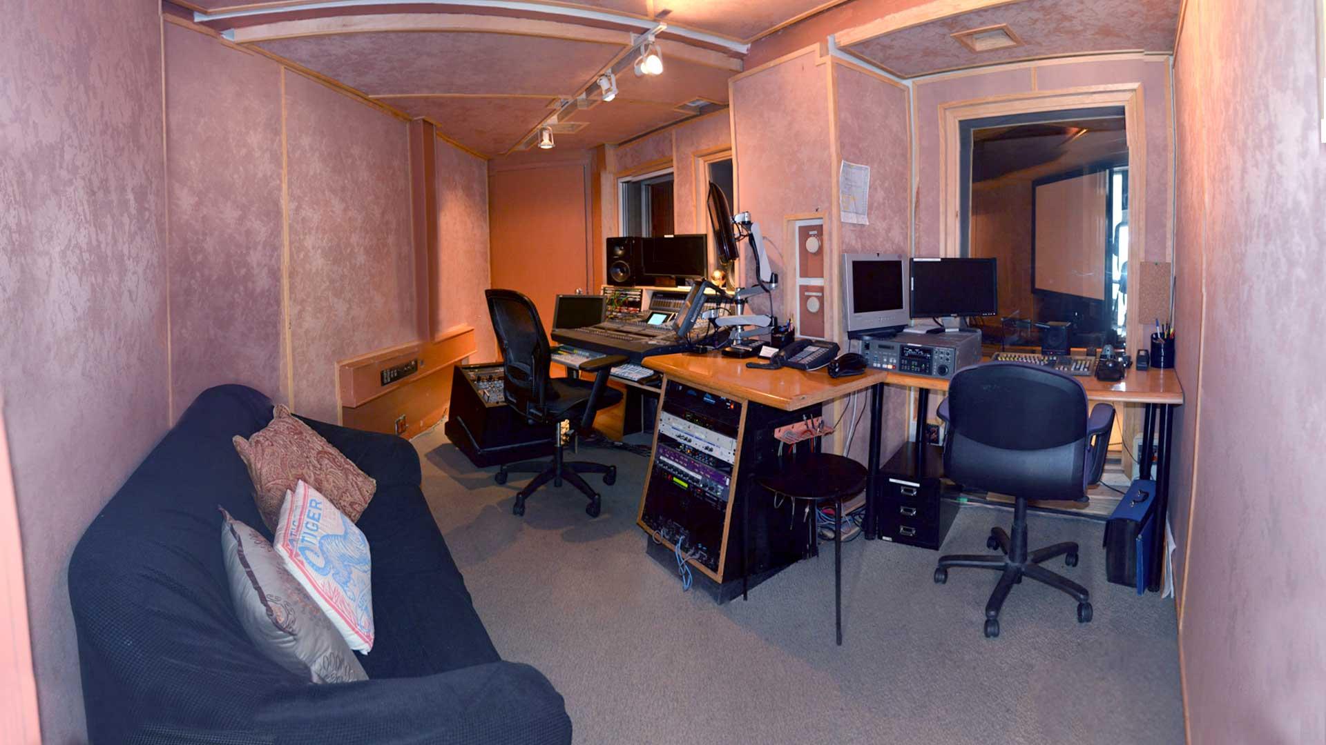Stage E Control Room