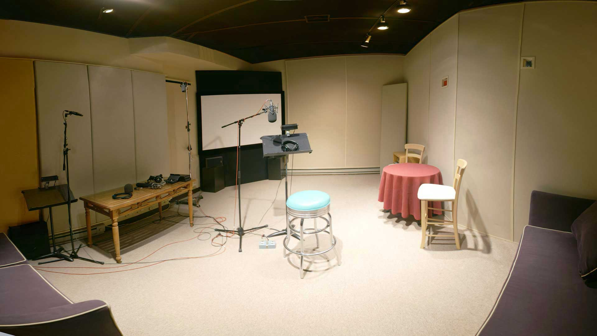 Studio G ADR stage