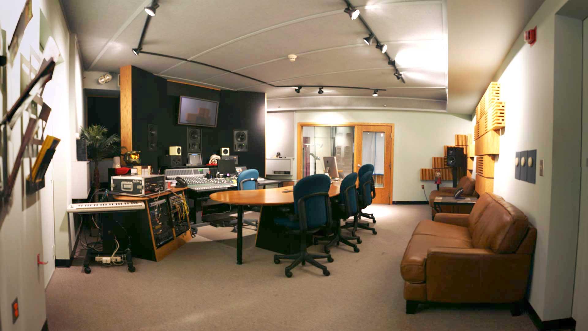 Studio D Control Room